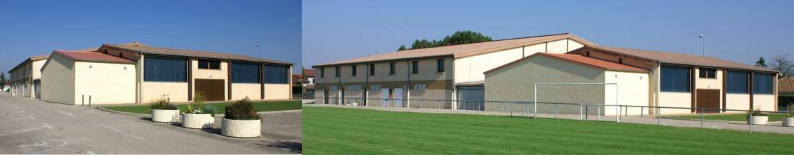 Gymnase de Saint-Romain de Jalionnas